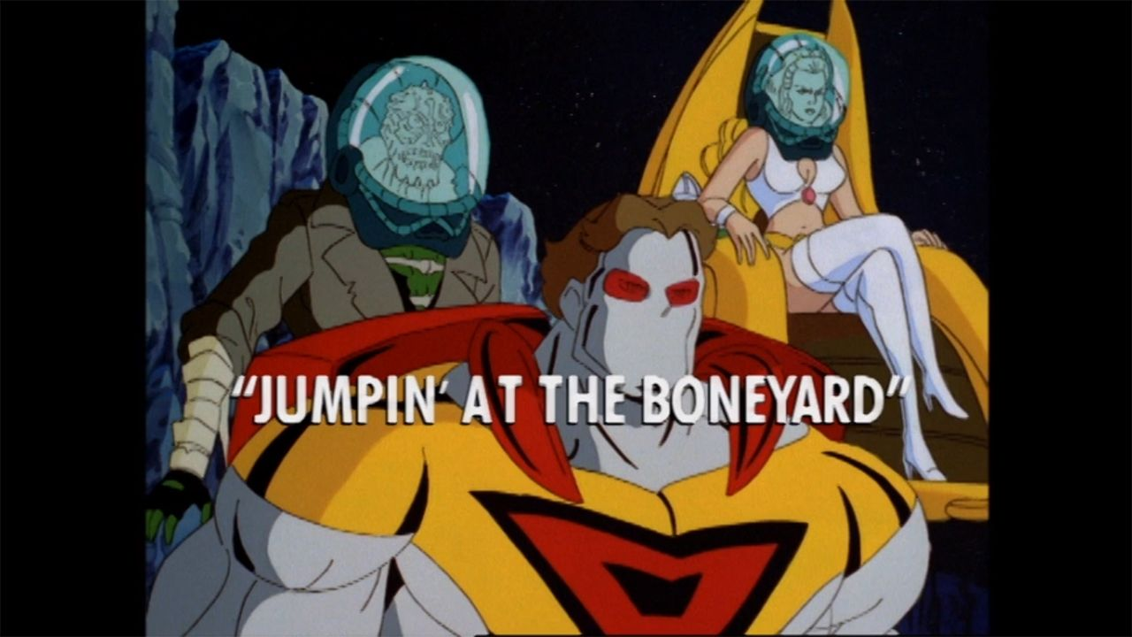 "ULTRAFORCE S01 E013 ""Jumpin' At The Boneyard"""