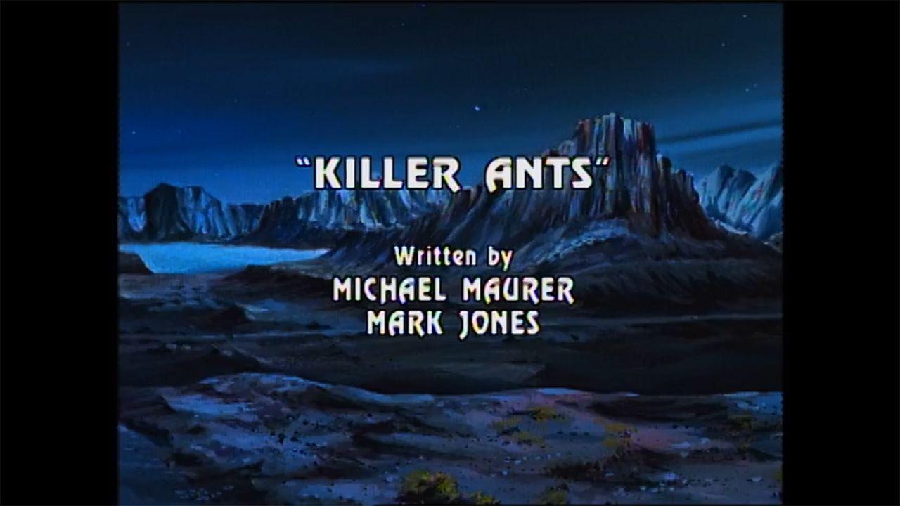 """SKYSURFER STRIKE FORCE S01 E12 """"Killer Ants"""""""